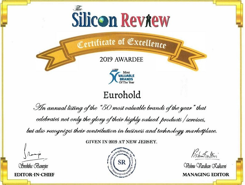 The Silicon Valley Certificate of Excellence